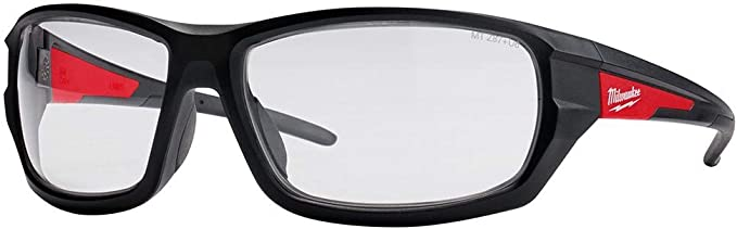 Milwaukee 48-73-2020 Performance Safety Glasses with Clear Lenses, Fog Free Lens - - Amazon.com