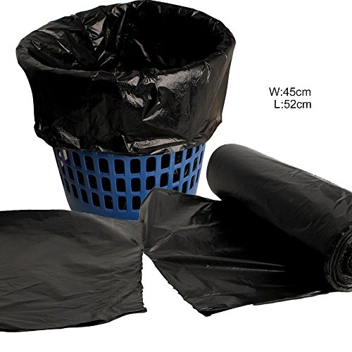 vesipafly 5 gallon 150 counts durable disposable kitchen trash bags can liners small garbage. Black Bedroom Furniture Sets. Home Design Ideas