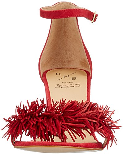 KMB Talons Rojo Rouge 17 Femmes Open Toe Wizar prnqxBP1wp