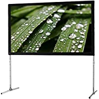 "celexon 138"" Folding Frame Screen Mobile Expert, Rear Projection Screen, 16:9 Format, Flightcase for transport & storage"