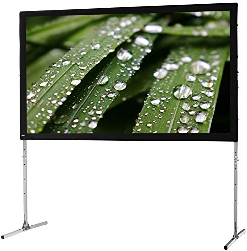 "celexon 138"" Folding Frame Screen Mobile Expert, Rear Projection Screen, 16:9 Format, Flightcase for transport & storage by celexon"