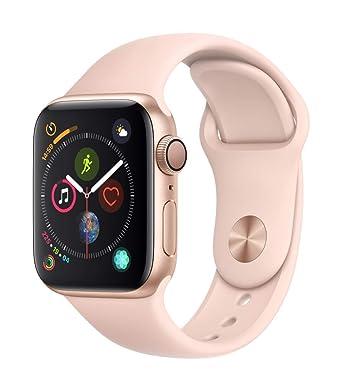 AppleWatch Series4(GPSモデル)- 40mmゴールドアルミニウムケースとピンクサンドスポーツバンド