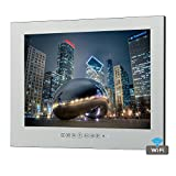 Soulaca 15.6'' Magic Smart Mirror Waterproof TV for Hotel Bathroom M156FA-2Y