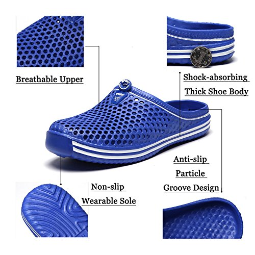 Sandals Drying Barkor Mesh Shoes Mint Quick Walking Garden Clog Beach Mens Summer Women's nnW8CBqP