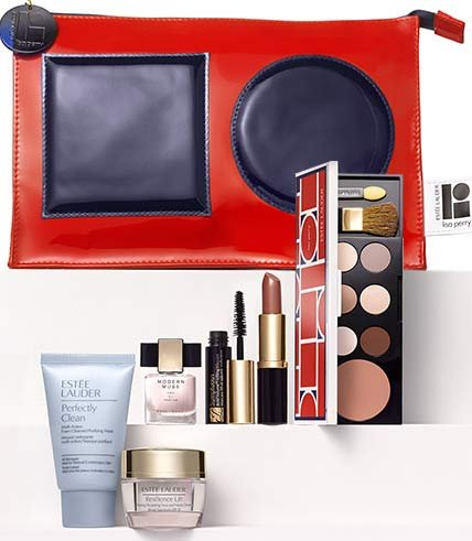 Estee Lauder All Skin Care and Makeup 7pcs Gift Set ($155 Value)