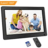 LESHP Digital Photo Frame 15.6 Inch 1920x1080 Hi-Res with IPS LCD and Motion