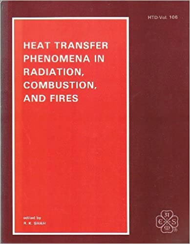 Heat Transfer Phenomena in Radiation Combustion and Fires: Presented