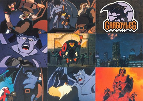 GARGOYLES SERIES 1 1995 SKYBOX COMPLETE BASE CARD & POP-UP SET OF 90 + 10 AN