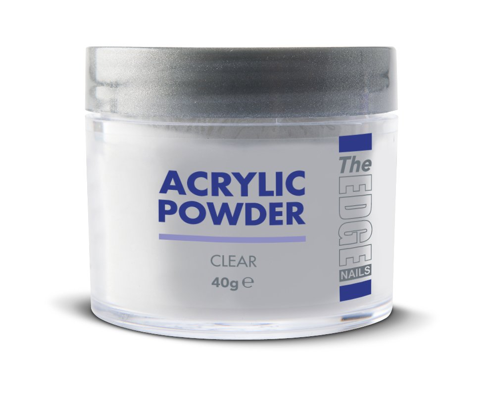 The Edge Acrylic Powder Clear 40g - 2001102 20 01 102