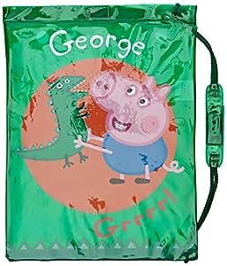 Peppa Pig- George - Disfraz Dinosaurios (Trademark Collections PEPPA002023)