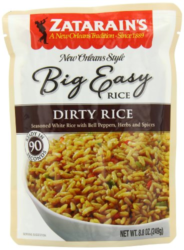 Zatarain's New Orleans Style Big Easy Dirty Rice Mix, Easy Rice, 8.8 oz (Pack of 8)
