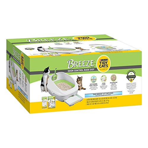 Purina Tidy Cats BREEZE Cat Litter System Starter (System 1 Box)