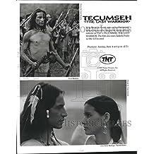 1995 Press Photo Jesse Borrego & Tailinh Prado in Tecumseh: The Last Warrior.