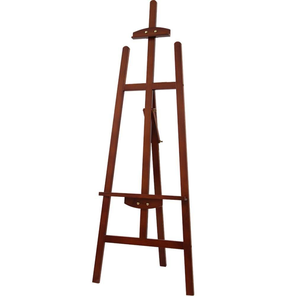 パインウッド垂直サイドバック折りたたみイーゼル木製スケッチイーゼル無垢材広告イーゼルディスプレイスタンド (Color : ウッド うっど, Size : One size)   B07NRPMX1H