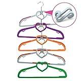 Egoelife 30 Pcs S Shape Space-Saving Clothes Hanger Connector Cascading Hooks Clothes Rack Hook (30)