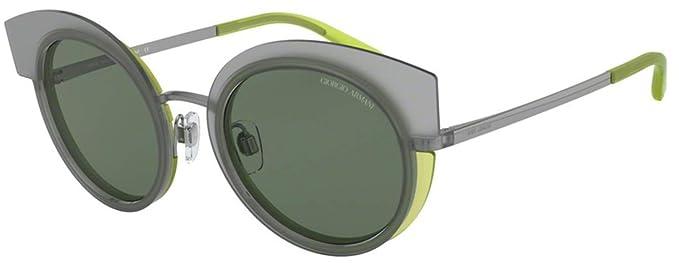 Armani GIORGIO 0AR6091 Gafas de sol, Gunmetal/Top Grey Green ...