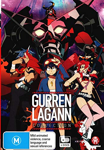 Gurren Lagann Collection | 6 Discs | Anime & Manga | NON-USA Format | PAL | Region 4 Import - Australia