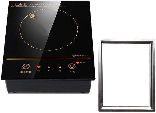 DAETNG Placa de Cocina de inducción eléctrica portátil de 220V ...