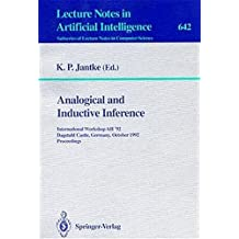 Analogical and Inductive Inference: International Workshop AII '92, Dagstuhl Castle, Germany, October 5-9, 1992. Proceedings