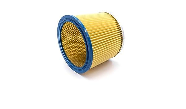 vhbw Filtros Redondos, filtros laminados, filtros para aspiradoras, aspiradores Multiusos Parkside PNTS 1500 (A1/B1/B2), 30/4(E/S), 30/6(E/S).