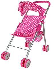 "This ""Precious Toys Doll Stroller"" is with no doubt the best toy which can be given to our kids or as a gift. Our children will play for hours and use their imagination with this lovely ""Doll Stroller"". Not only for girls, but the boys will l..."