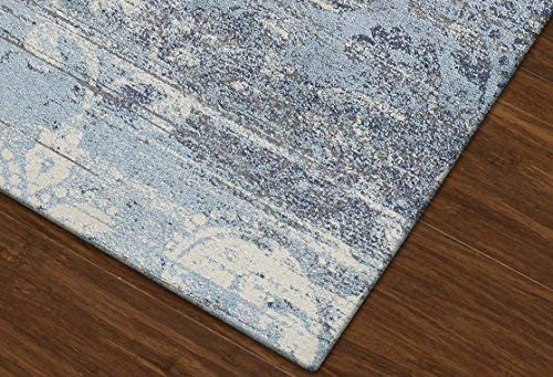 Dalyn Rugs Lavita Area Rug, 9 6 x 13 2 , Denim