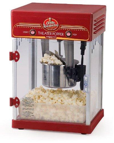 Presto 05310 palomitas de maiz poppers - Palomitero (120V) Rojo: Amazon.es: Hogar