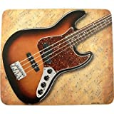 Mouse Pad Sheet Music Electric Bass Guitar