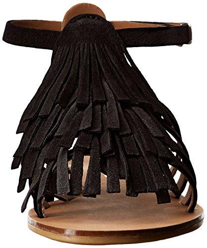 Sandal Kai JSlides Flat Women's Black 8qpwg4B