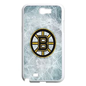 Boston Bruins Samsung Galaxy N2 7100 Cell Phone Case White AMS0695294
