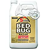 Harris New 5-Minute Bed Bug Killer - Patent Pending Technology, Non-Staining and Kills All Bed Bug Life Stages (Gallon)