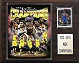 """NBA Cleveland Cavaliers NBA 12""""X15"""" Cleveland Cavaliers 2015-2016 NBA Champions Plaque, Brown, N/A"""