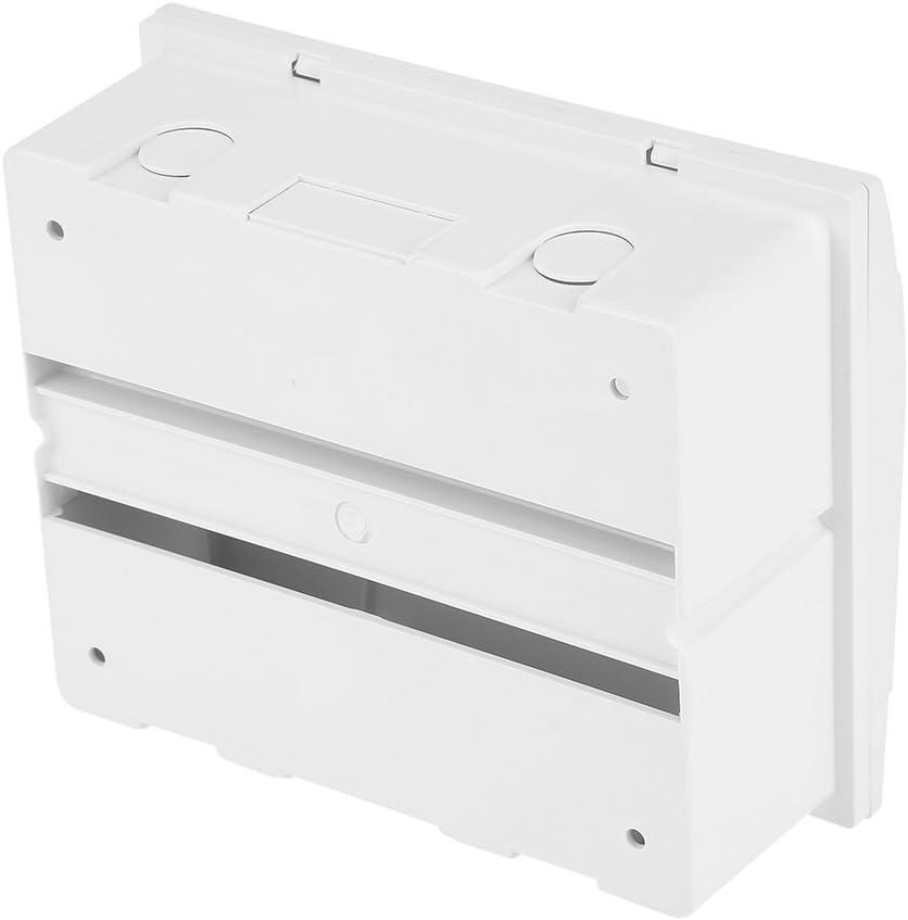 Bo/îte industriel de distribution avec couvercle transparent en plastique pour circuit 5-8 voies int/érieur sur le mur