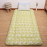 Anti-mite thicken tatami mats mattress mattress student dorm room 0.9m mattress mat double 1.8m bed floor sleeping pad-J 180x200cm(71x79inch)