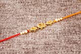 Rakhi Thread for Brother Bhaiya Traditional Rakshabandhan Rakhee Bracelet (Design 6)