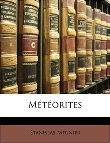 Téléchargement Meteorites pdf