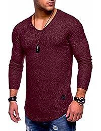 Men's Sweater Jumper Hoodie Sweatshirt Pullover Longsleeve Tops MT-7313