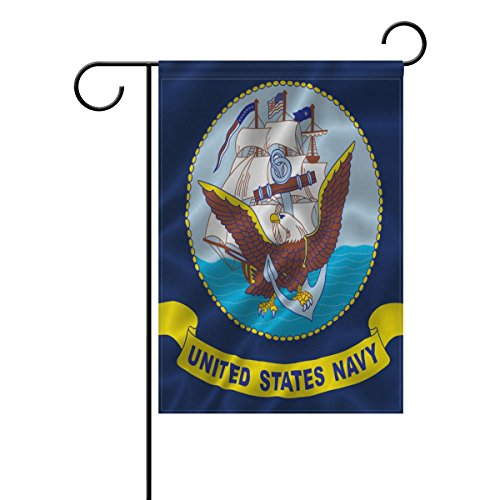 ALAZA Double Sided United State Navy Ocean US Army and Ameri
