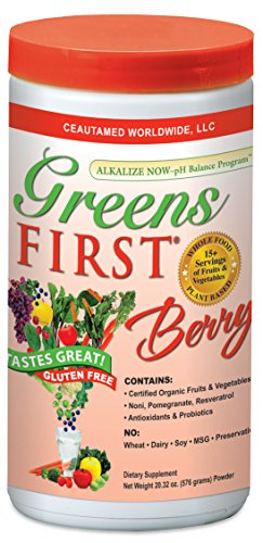 Greens First Berry 60 Servings 20.32 Ounces