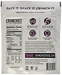 Crunchies Freeze-Dried Grab-n-Go Grapes, 1.2 Ounce (Pack of 6)