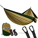 Bear Butt Double Parachute Hammock – Khaki / Dark Green Review