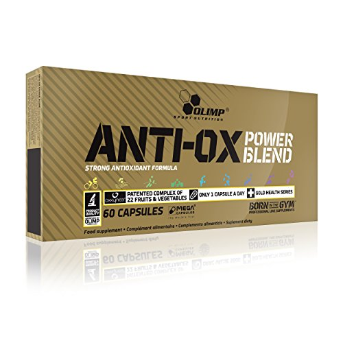 OLIMP Anti-OX - Power Blend Antioxidants Oxxynea Formula - 60 caps by Olimp Sport ()