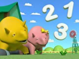 Learn numbers with Dino the Dinosaur : the Cars