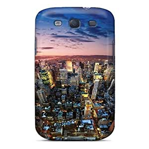 Galaxy S3 Case Bumper Tpu Skin Cover For New York City Accessories