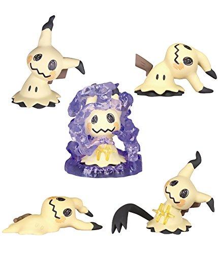 Takaratomy Mimikyu Ippai Collection Capsule Mini Figures (5-Piece Set) ()