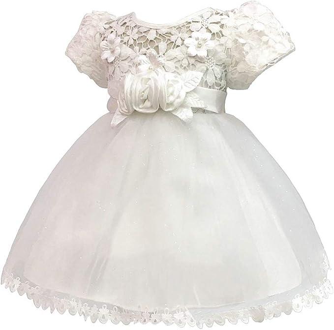 KINDOYO Recién Nacido Vestido Traje de Fiesta Princesa - Tutú Gasa ...