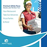 White Cardboard Pizza Boxes, Takeout Containers