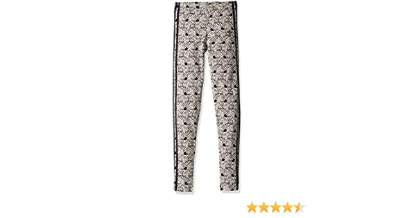 adidas Originals Girls' Zebra Print Leggings,