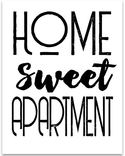 Cheap  Home Sweet Apartment - 11x14 Unframed Typography Art Print - Great Home..