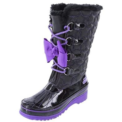 d7537cd2faea JoJo Siwa Girls Winter Boots JoJo Siwa Snow Boot Cold Weather (1)